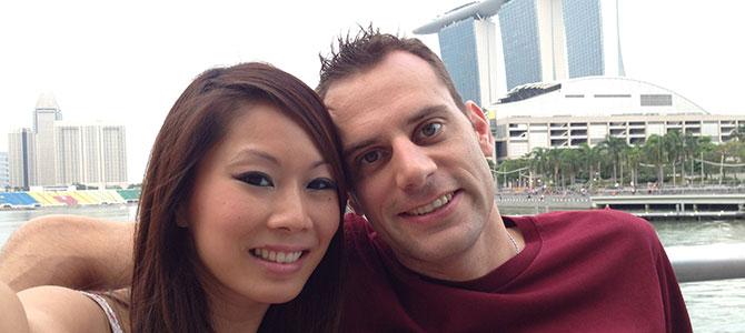 Anh Thu Nguyen e Simone Micheletti