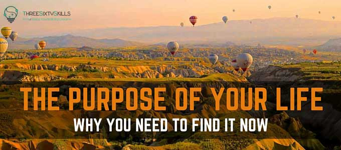 Finding your purpose in life
