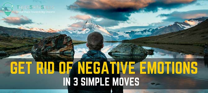 get rid of negative emotions